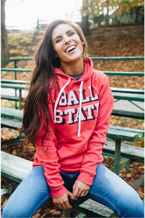 Ball State Vintage Hoodie-bluepeppermint-boutique