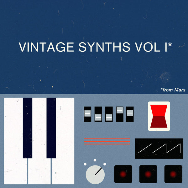 VINTAGE SYNTHS VOL I | Samples From Mars