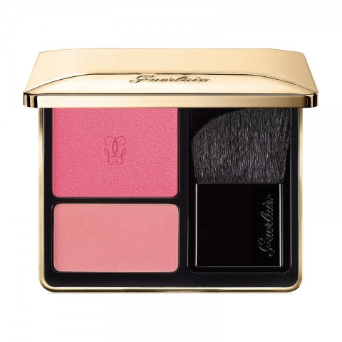 GUERLAIN ROSE AUX JOUES BLUSH DUO DE ROUGE 6G
