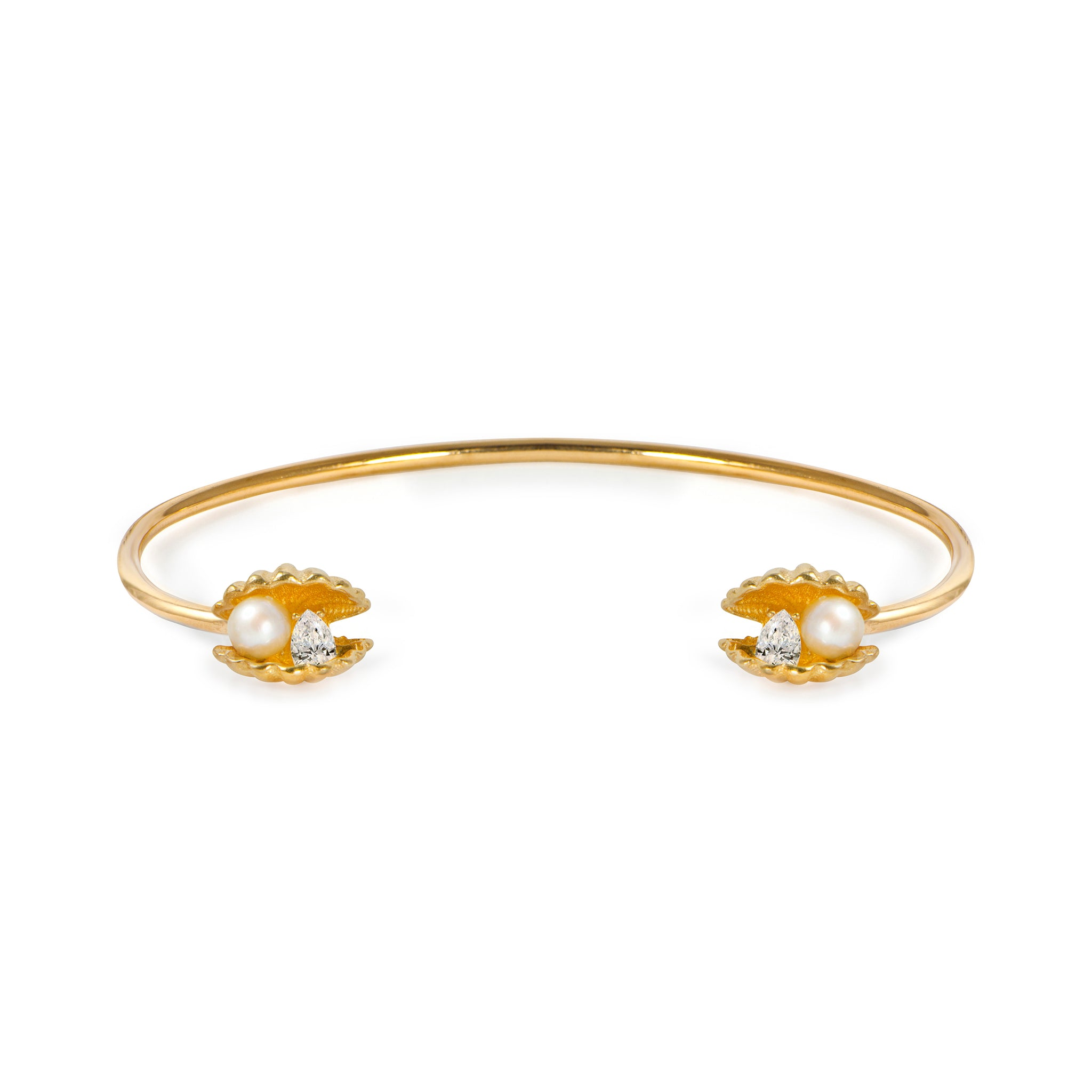 APPLES & FIGS - VENUS CLAM TWINS CUFF