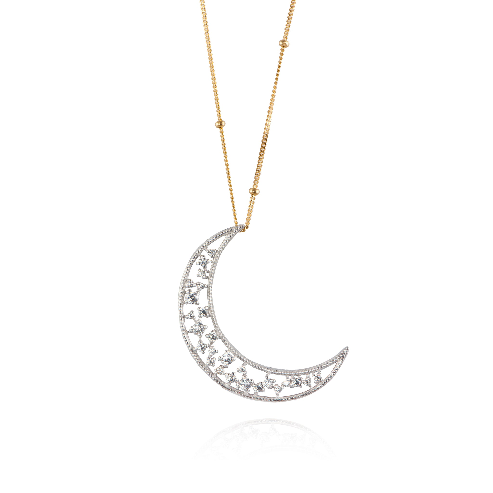 APPLES & FIGS X CRESCENT PENDANT