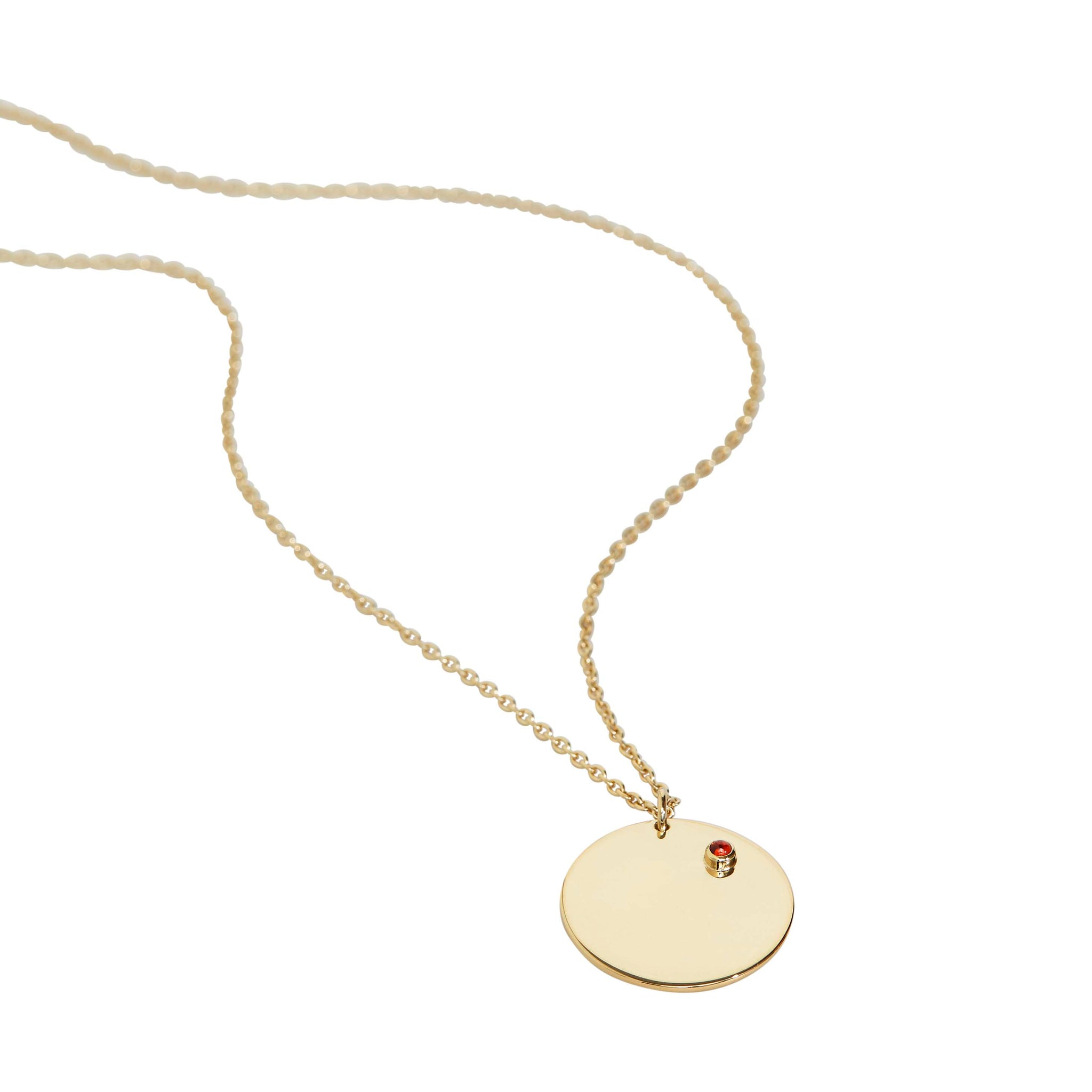 TRINE TUXEN - JANUARY GARNET NECKLACE