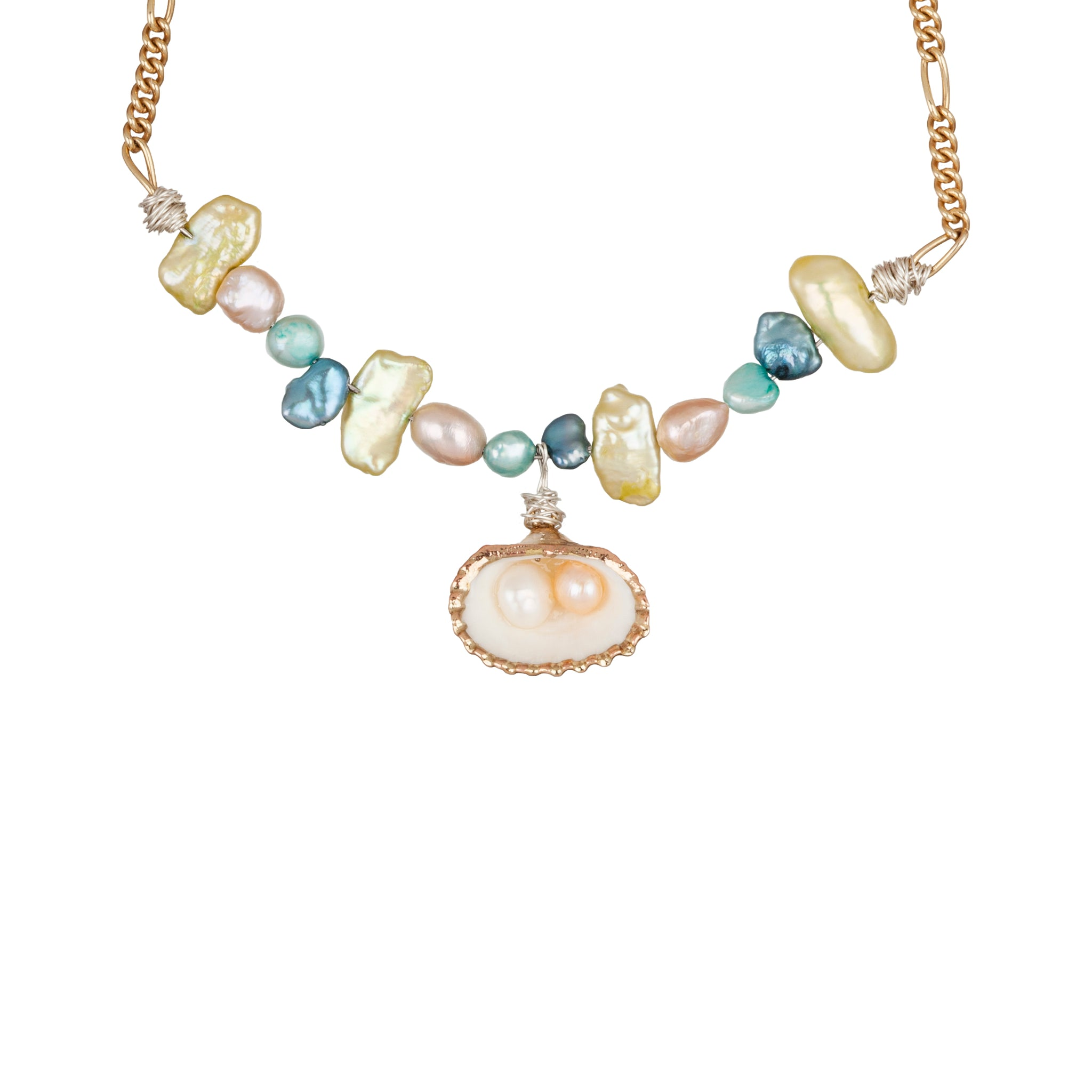 WALD BERLIN - LADY MARMALADE PEARL SHELL NECKLACE