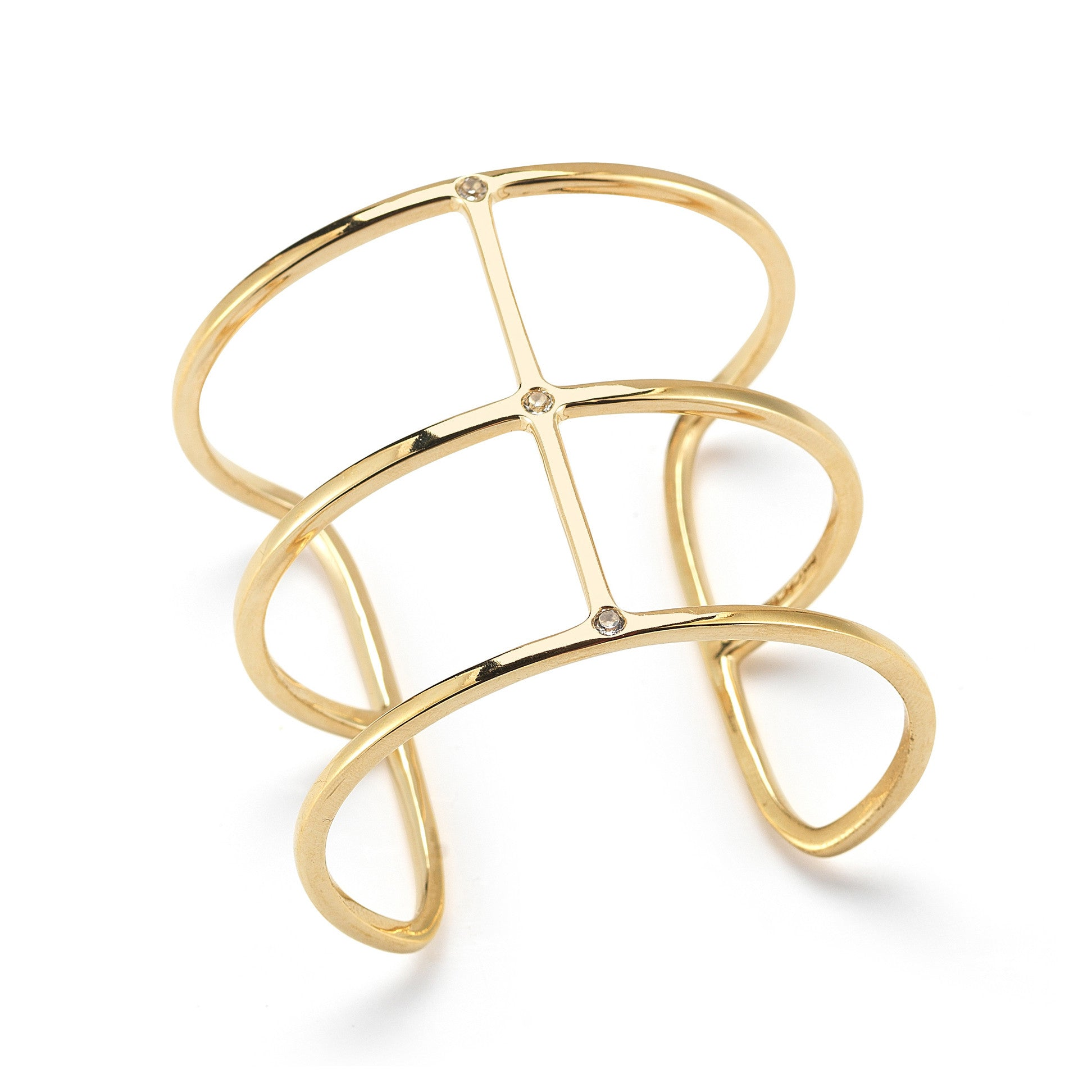 ELIZABETH AND JAMES - GOLD MONDIAN CUFF