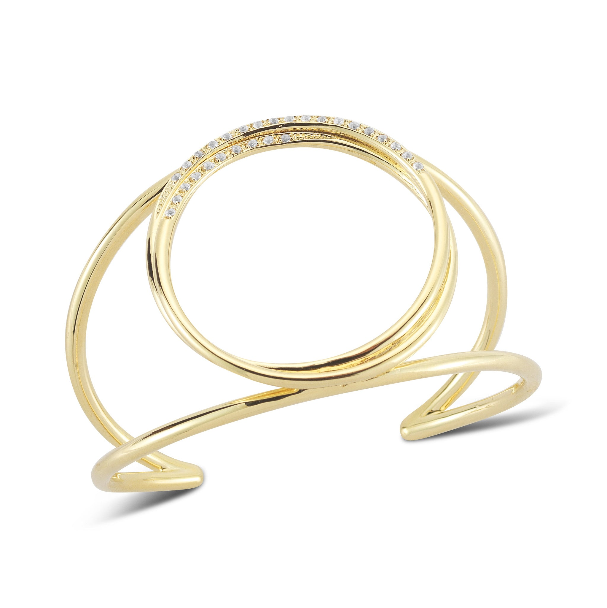 ELIZABETH AND JAMES - GOLD LISSIE CUFF