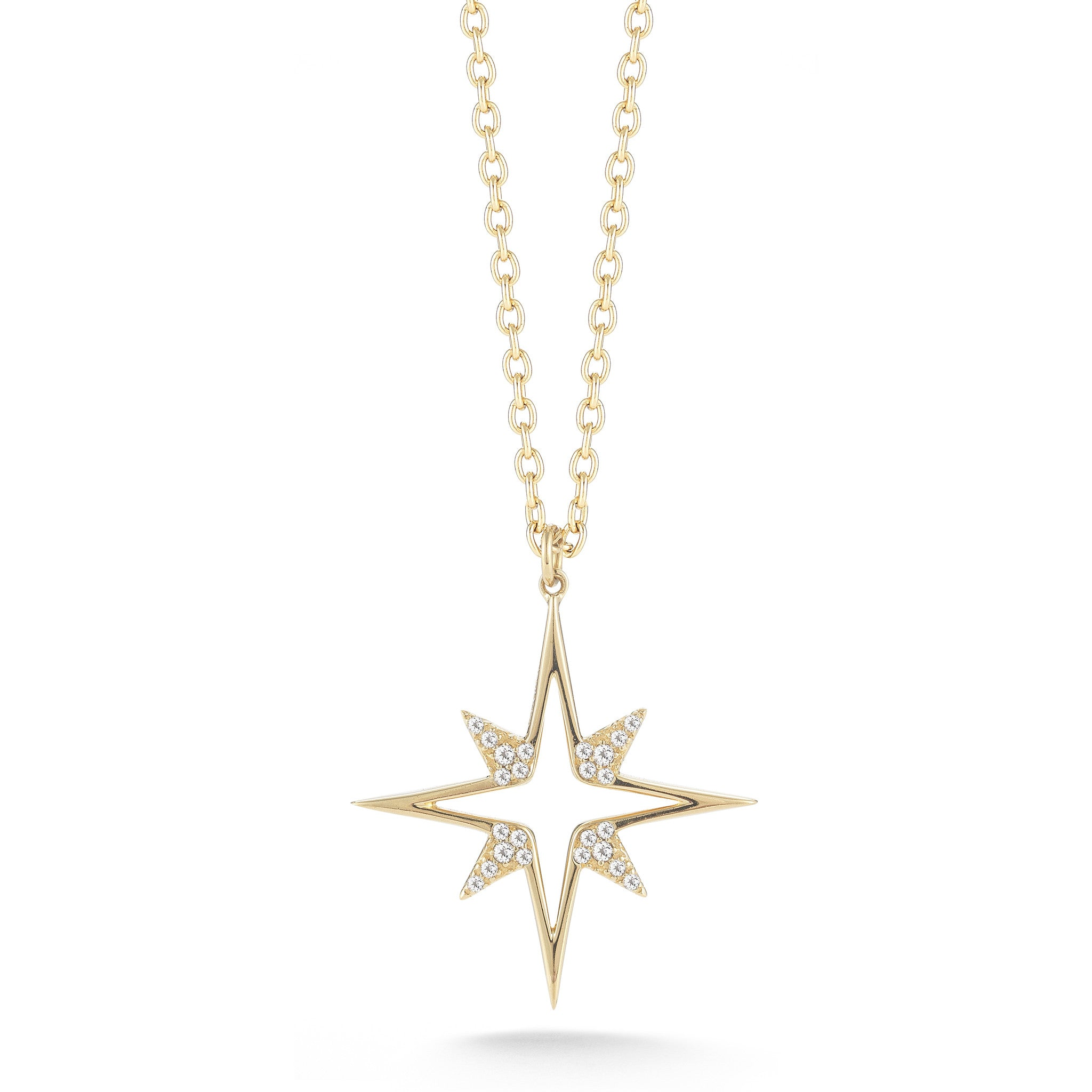 ELIZABETH AND JAMES - GOLD ASTRAL PENDANT