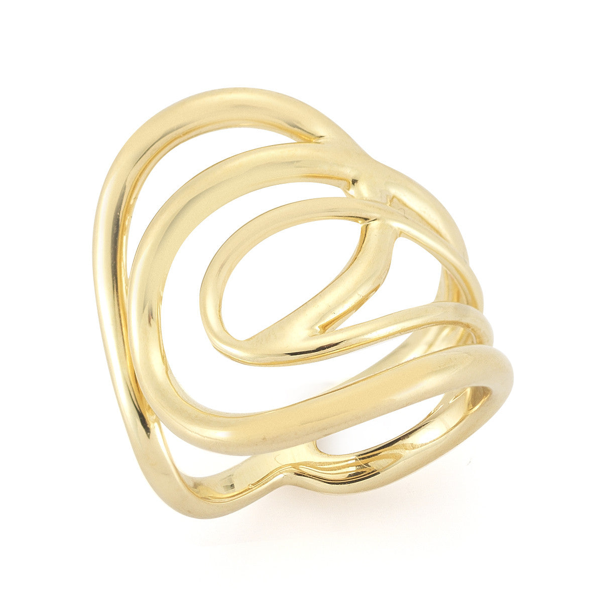 ELIZABETH AND JAMES - GOLD ELLIE RING
