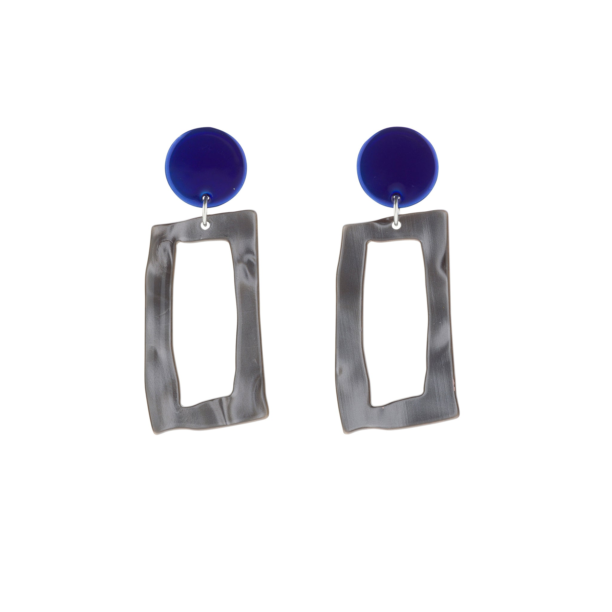 BIANCA MAVRICK - AZURE FRAME EARRINGS