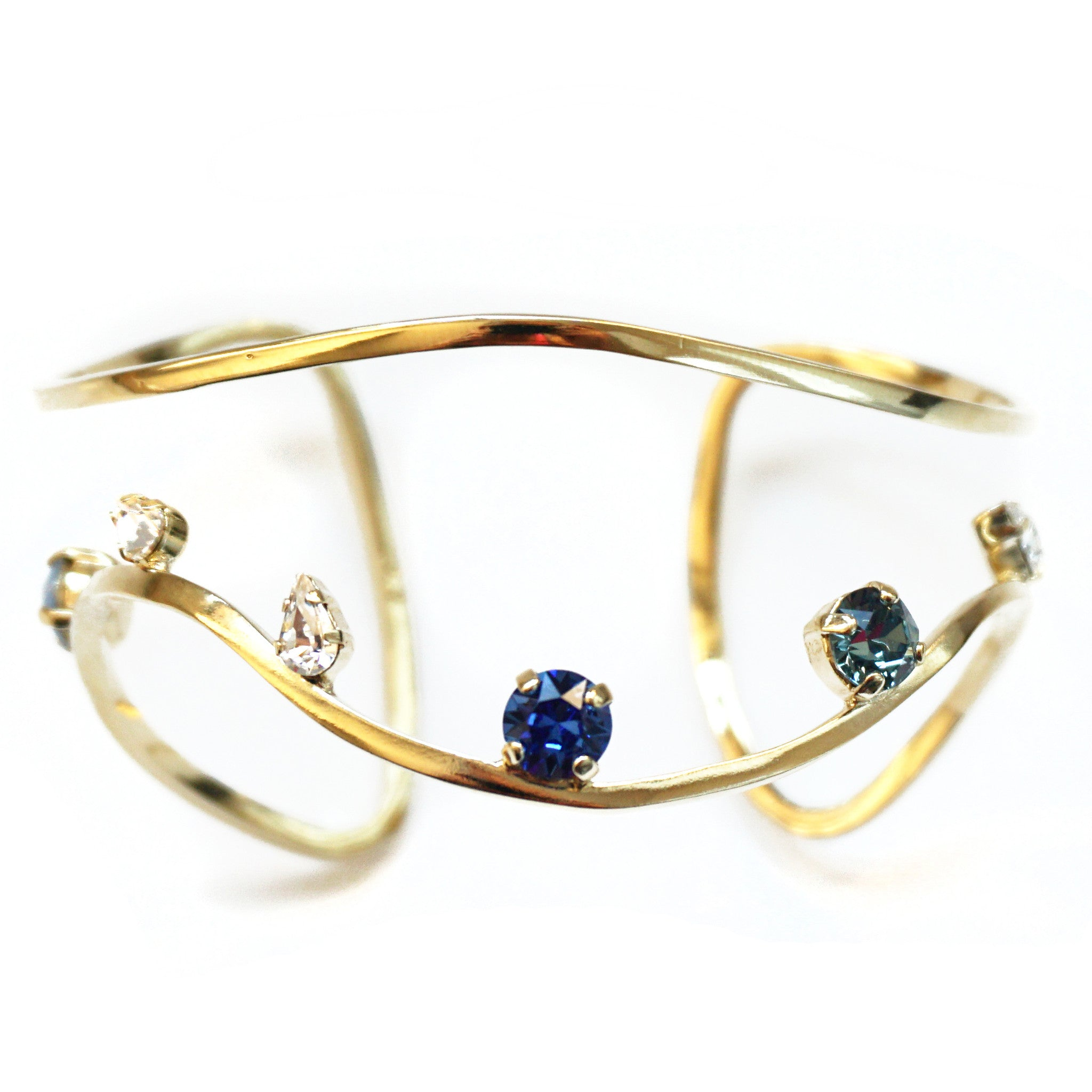 CAROLYN COLBY - GOLD GEM BRACELET