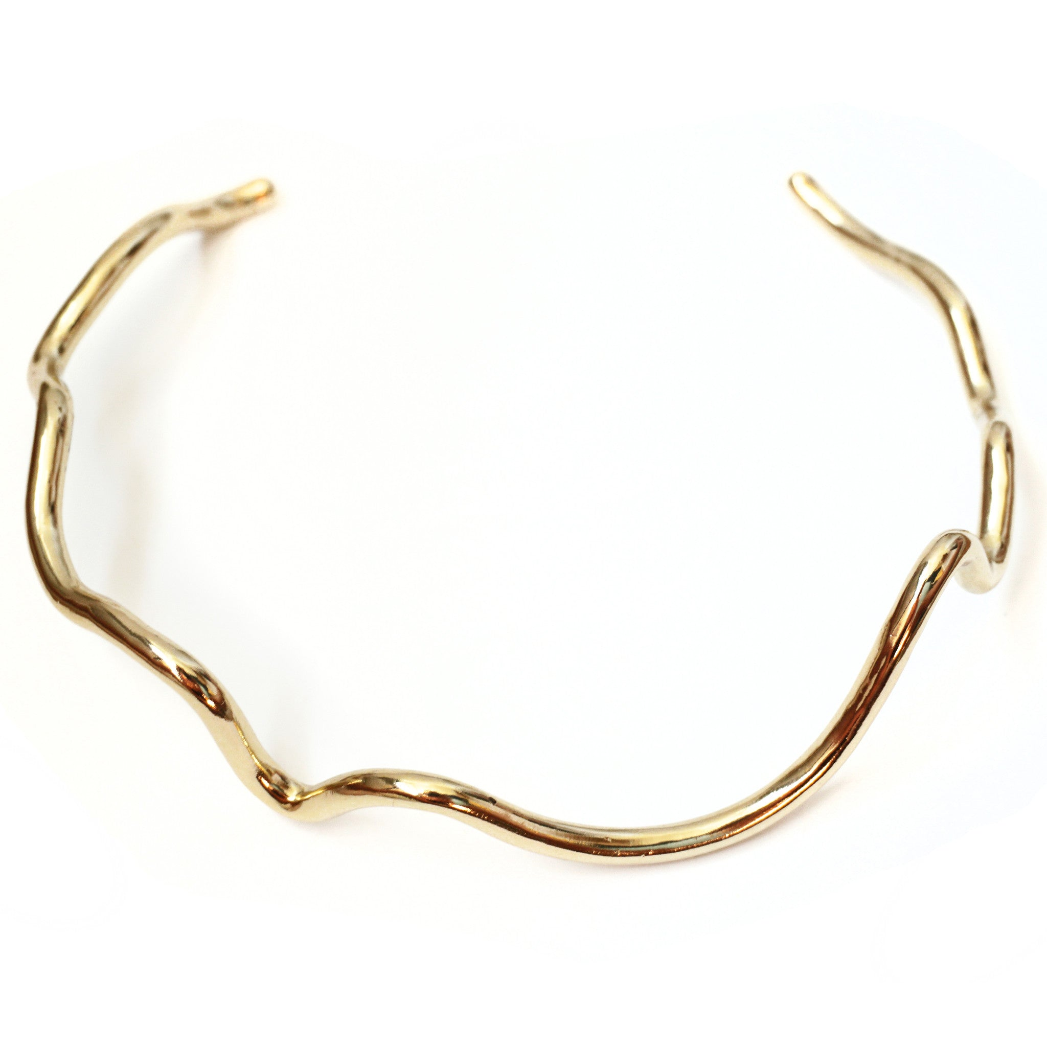 CAROLYN COLBY - GOLD WAVE CHOKER