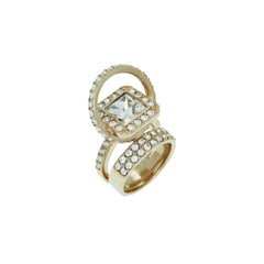 EK THONGPRASERT - STATEMENT CRYSTAL RING