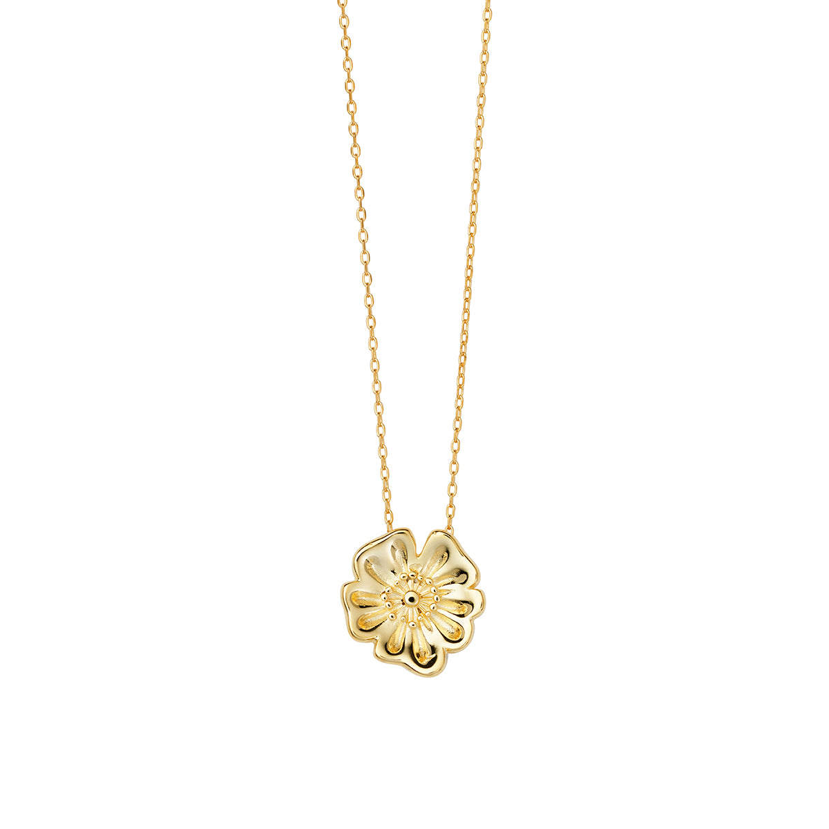 AYM - POPPY FLOWER NECKLACE