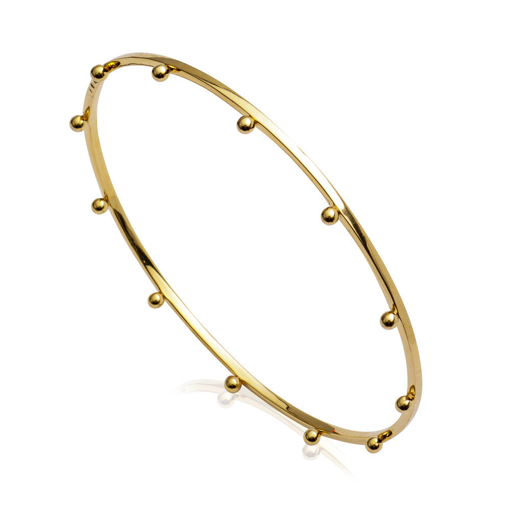 RACHEL JACKSON - GOLD PUNK BANGLE