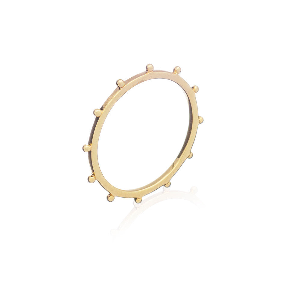RACHEL JACKSON - GOLD PUNK RING