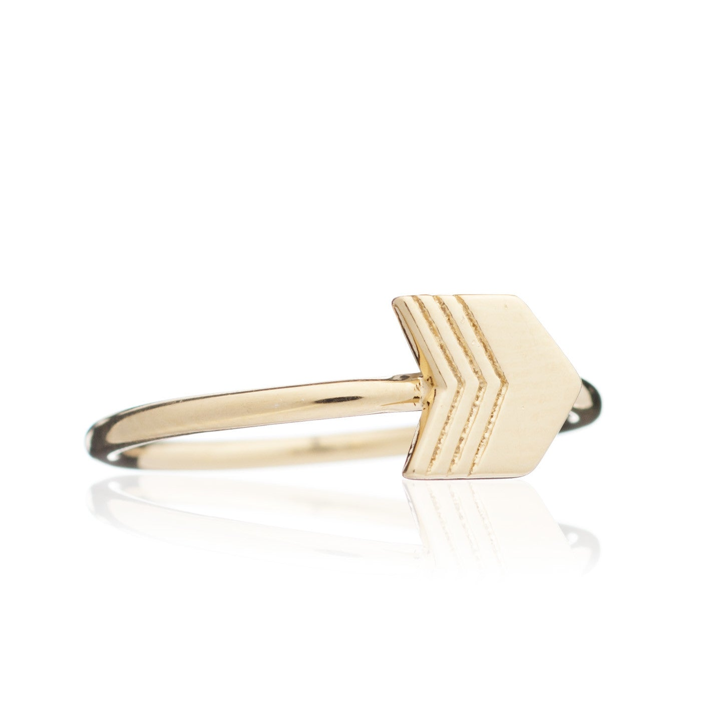 Rachel Jackson - Gold Arrow Ring