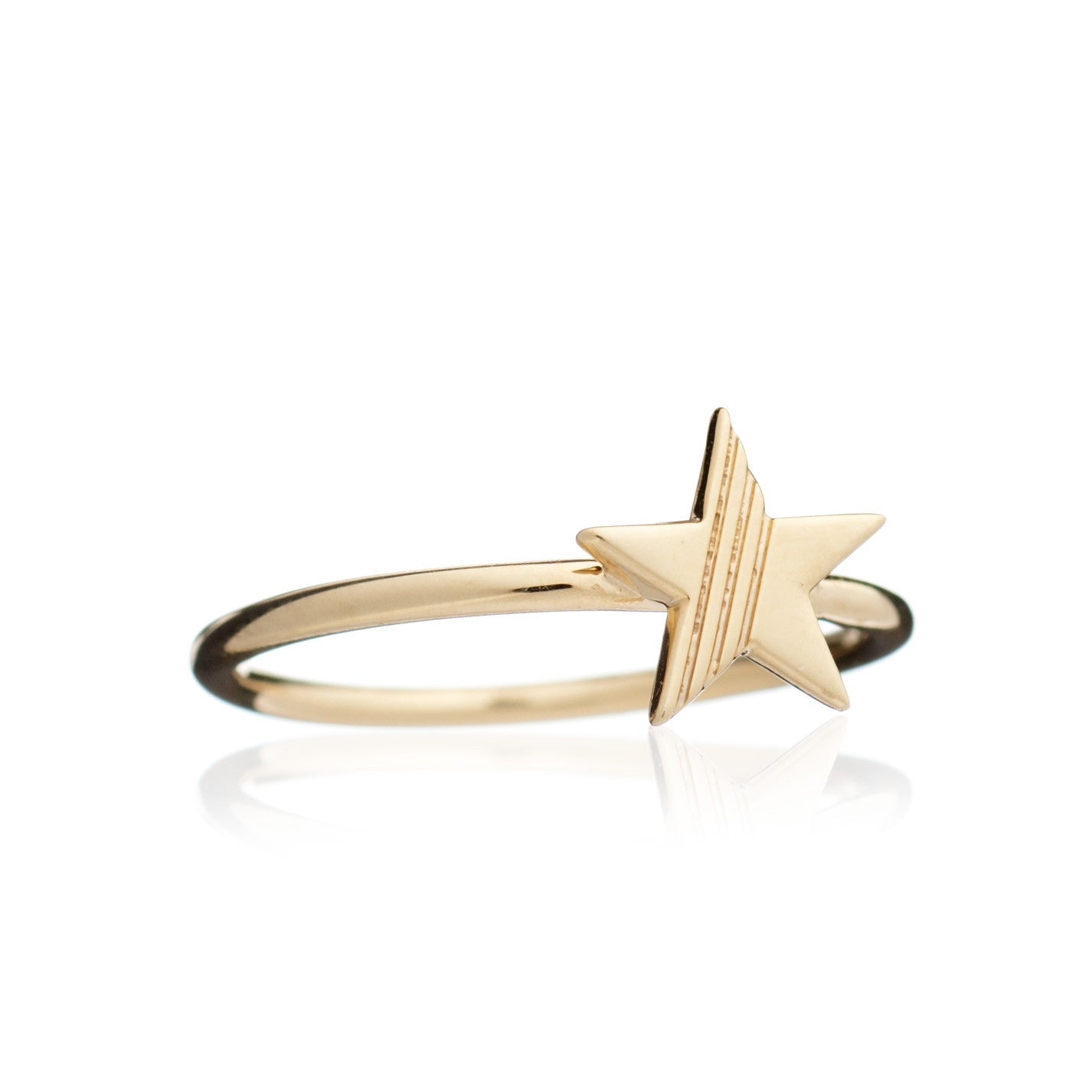 Rachel Jackson - Gold Star Ring