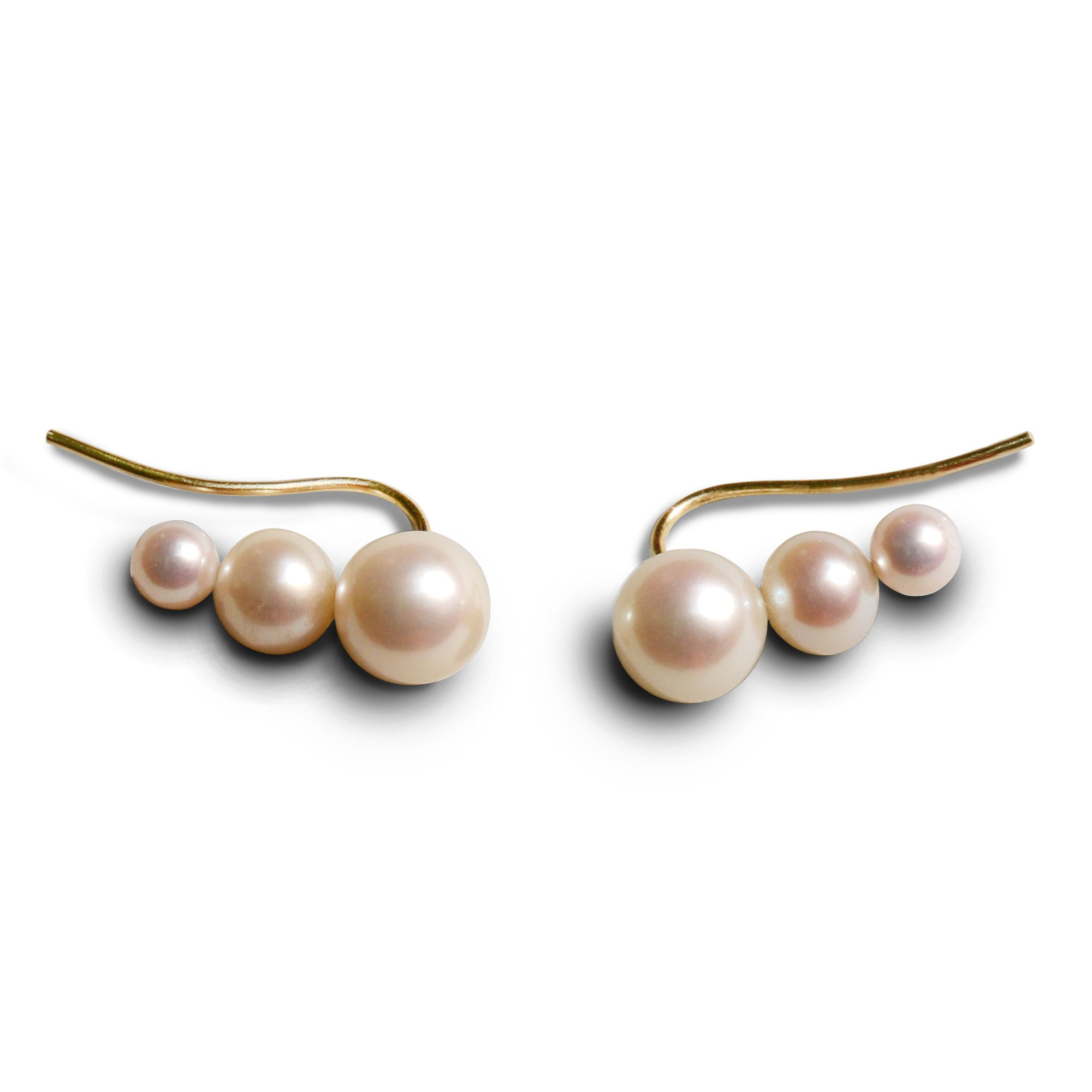 SASKIA DIEZ - PEARL EARRINGS