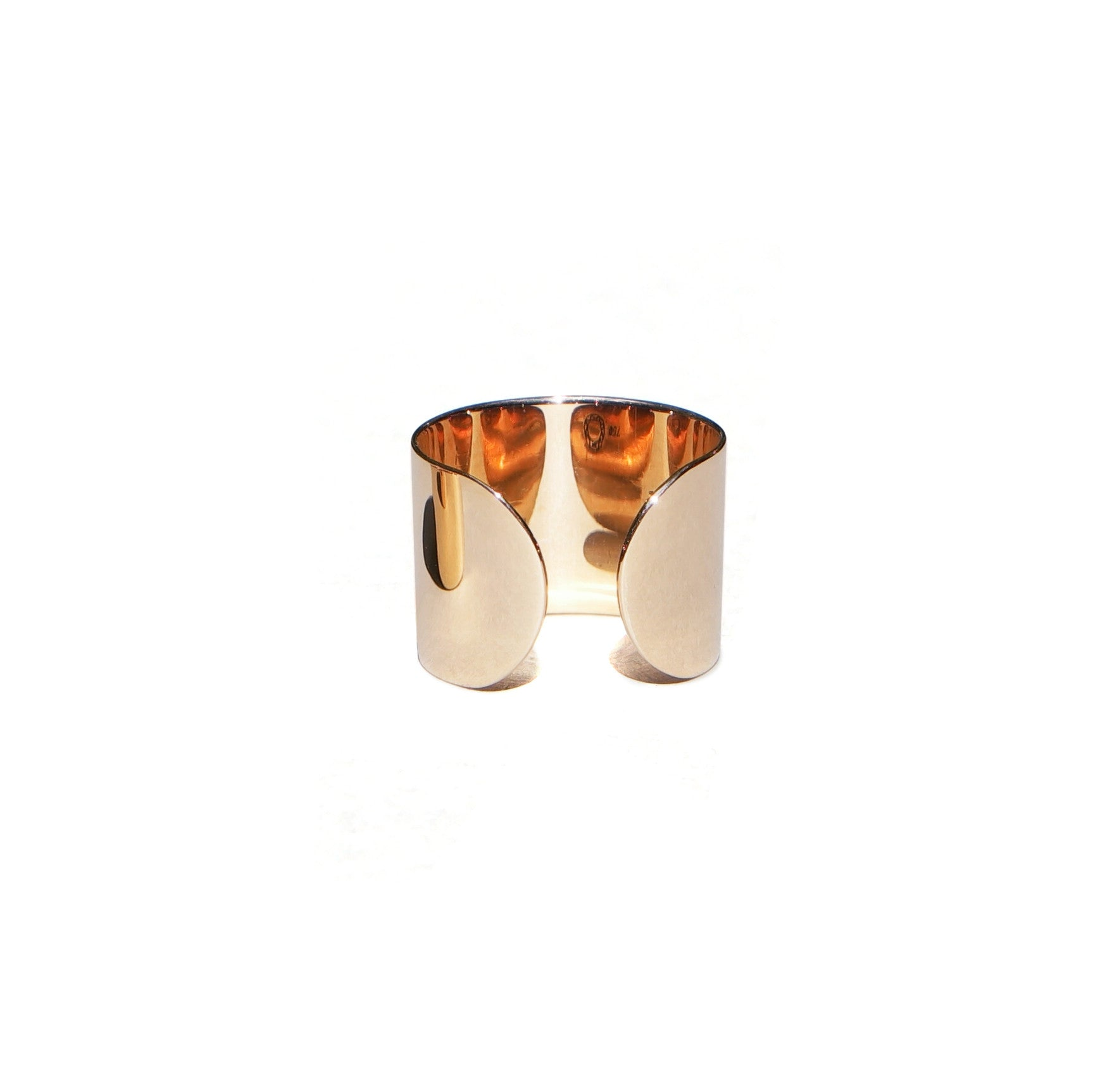 SASKIA DIEZ - GOLD PIPE RING