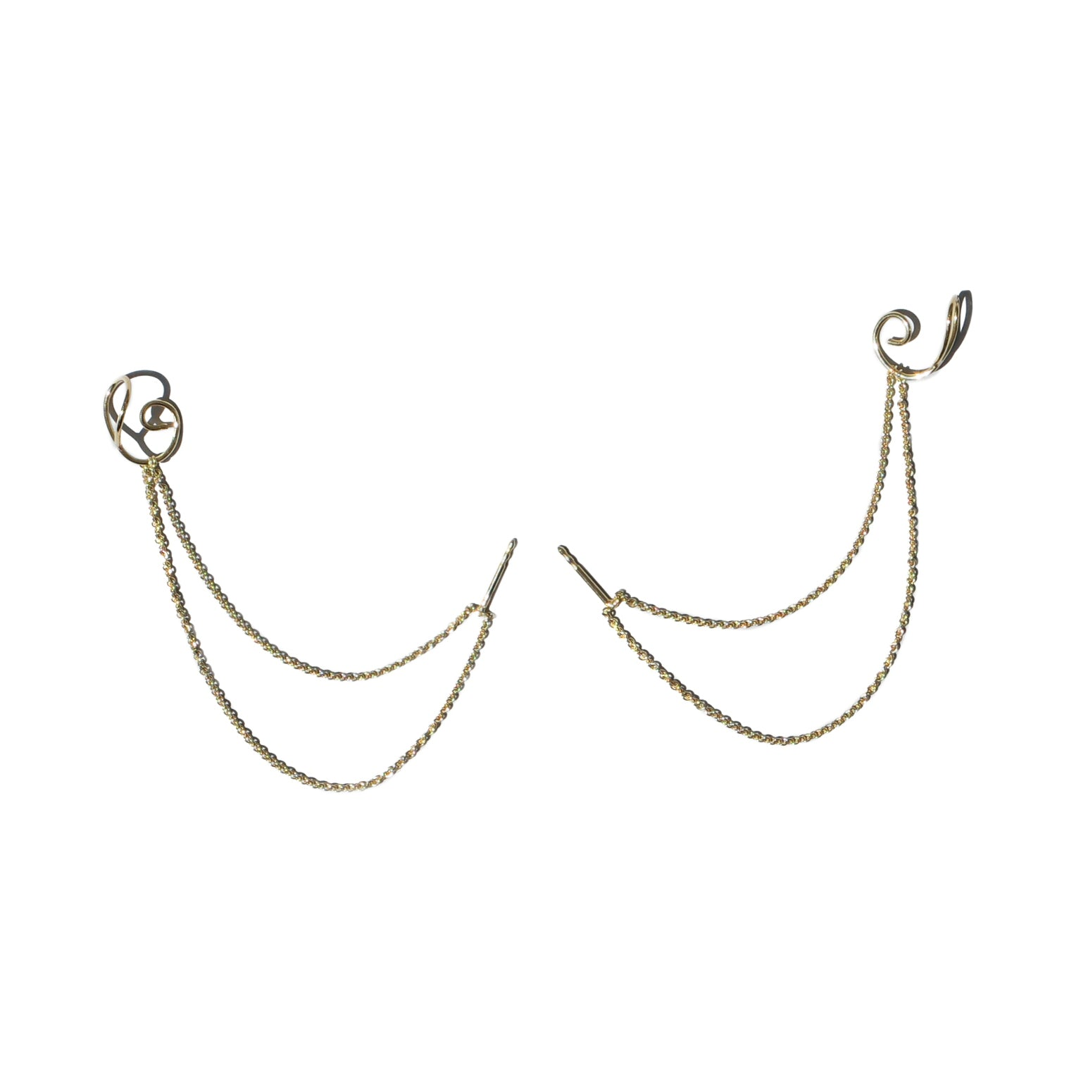Saskia Diez - Chained Earrings