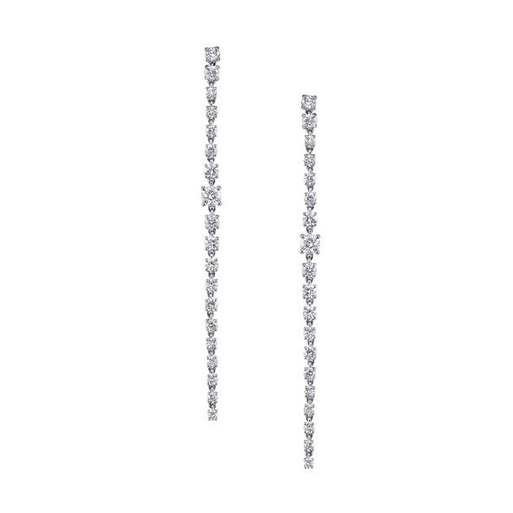 ANITA KO - LONG DIAMOND ROPE EARRINGS