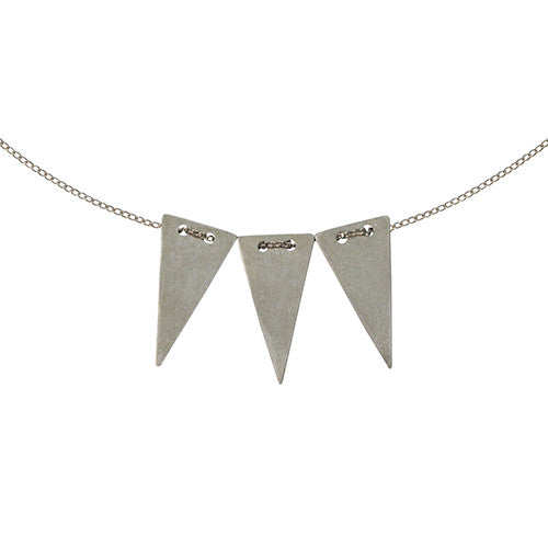 Mei-Li Rose - Small Triangle Trio Necklace