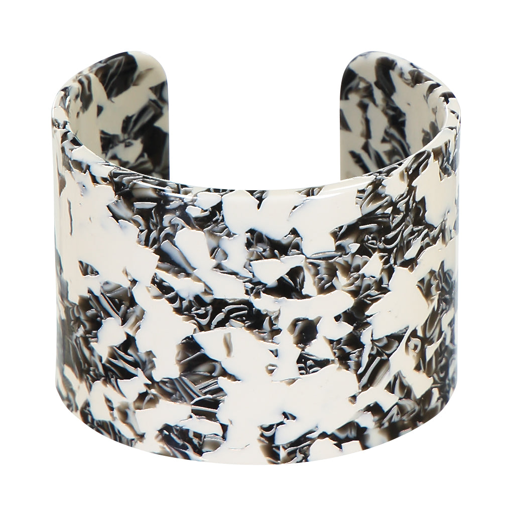 AYM - BERLIN BLACK AND WHITE ANABELLE BANGLE