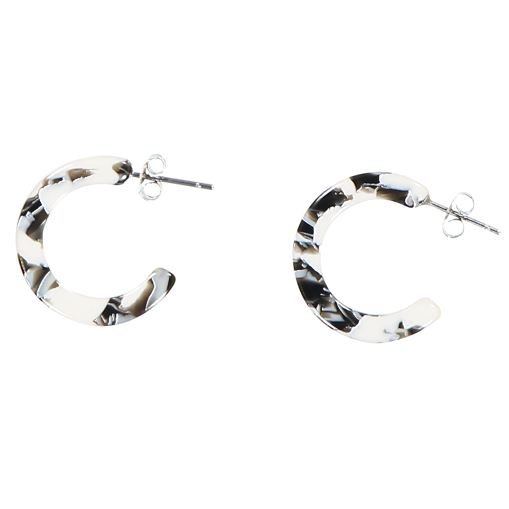 AYM - BERLIN BLACK AND WHITE ANAIS EARRINGS