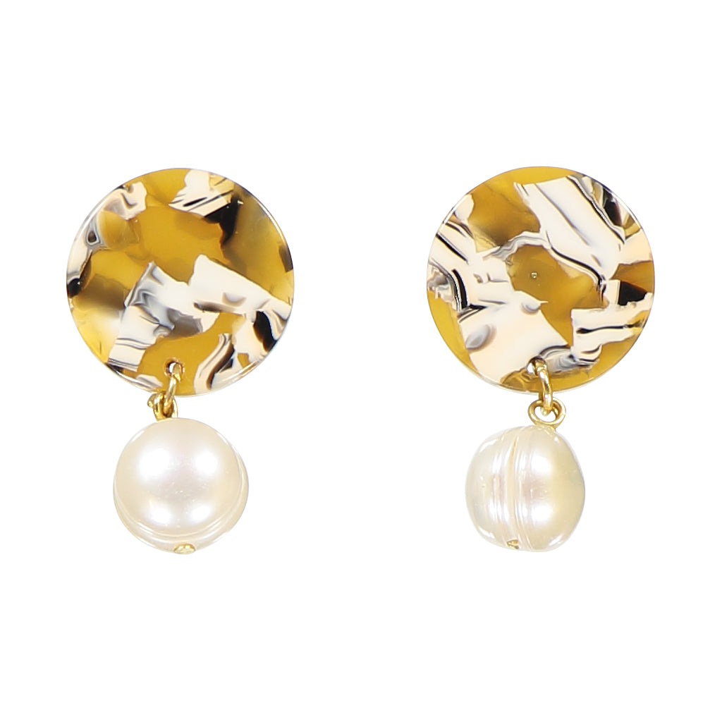 AYM - COPENHAGEN YELLOW ANDREIA EARRINGS
