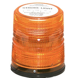 "Warning Light - 6"" High Power LED AMBER"