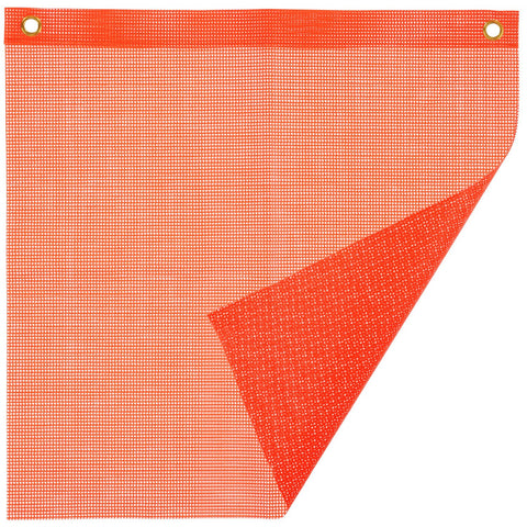 Safety Flag - Mesh w/ Grommets