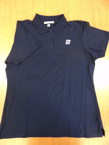 Polo Shirt (sleeve Shirt) - Woman's Blue