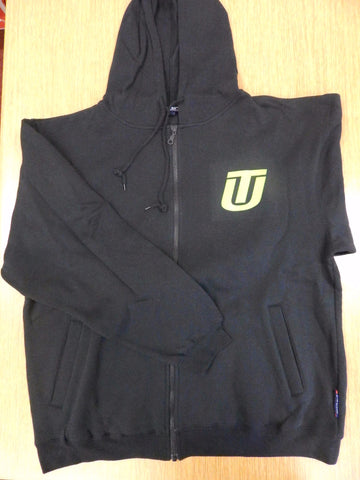 Sweatshirt - Black Zip Up