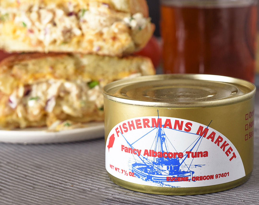 Fisherman's Kitchen Tuna Melt Canned Wild-Caught Albacore