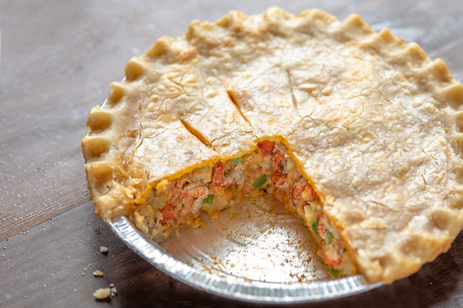 Fisherman's Kitchen Cajun Crawfish Pie