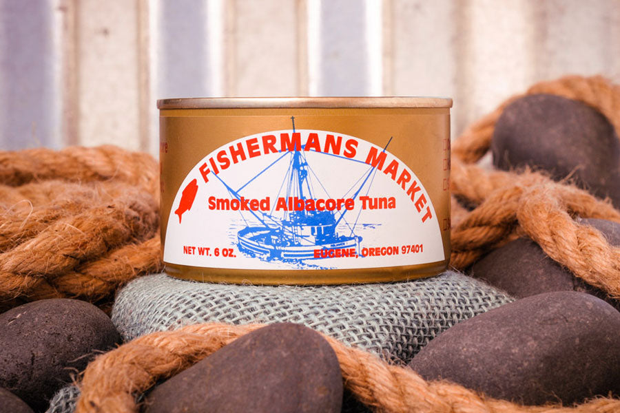 Fisherman's Kitchen Canned Smoked Wild Albacore Tuna