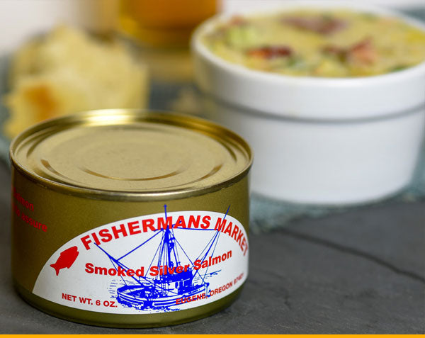 Fisherman's Kitchen Smoked Salmon Chowder Recipe using Canned Salmon