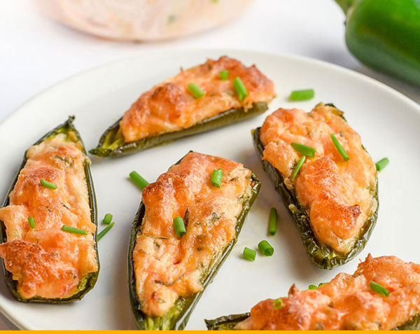 Fisherman's Kitchen Smoked Salmon Jalapeno Poppers