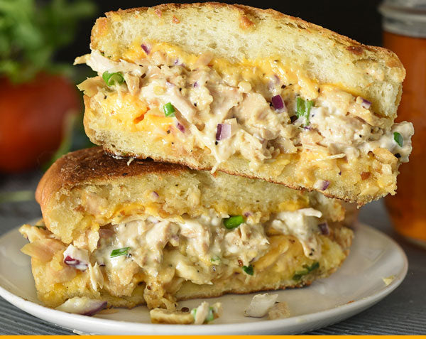 Fisherman's Kitchen Tuna Melt Recipe made with Canned Albacore