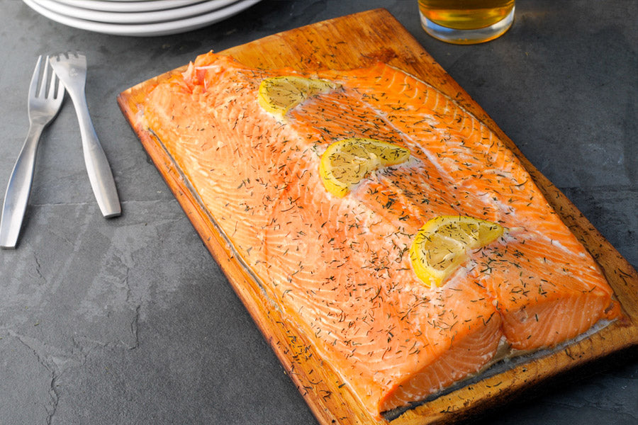 Fisherman's Kitchen Cedar Plank Salmon