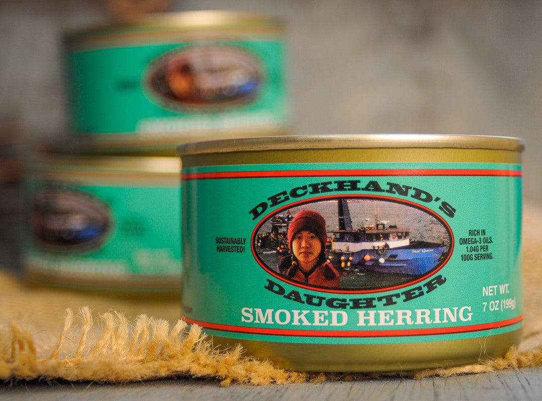 Fisherman's Kitchen Deckhand's Daughter Canned Smoked Herring