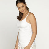 Breastfeeding Singlet with built-in bra