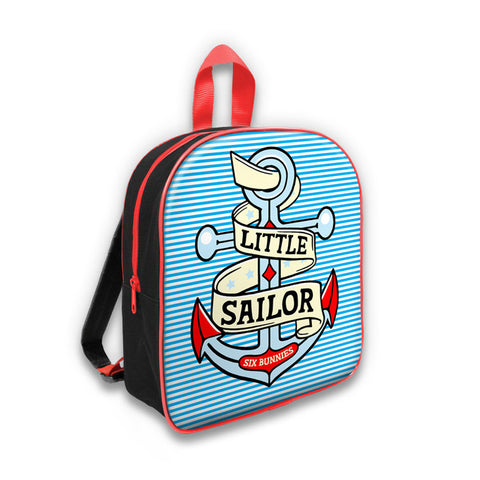 Six Bunnies Little Sailor Backpack