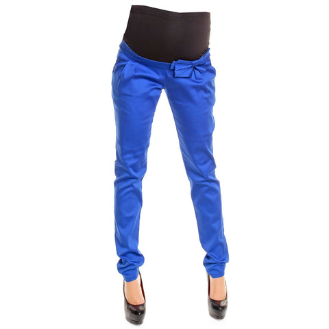 Skinny Low Rise pants with bow