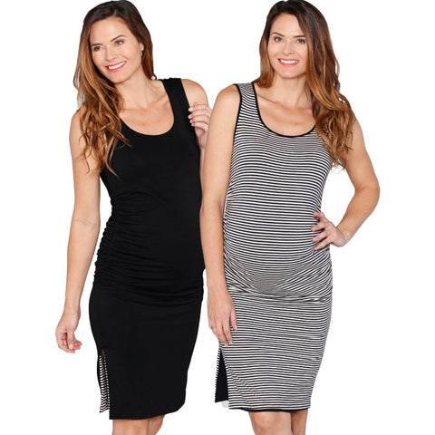 Reversible Tank Maternity Dress