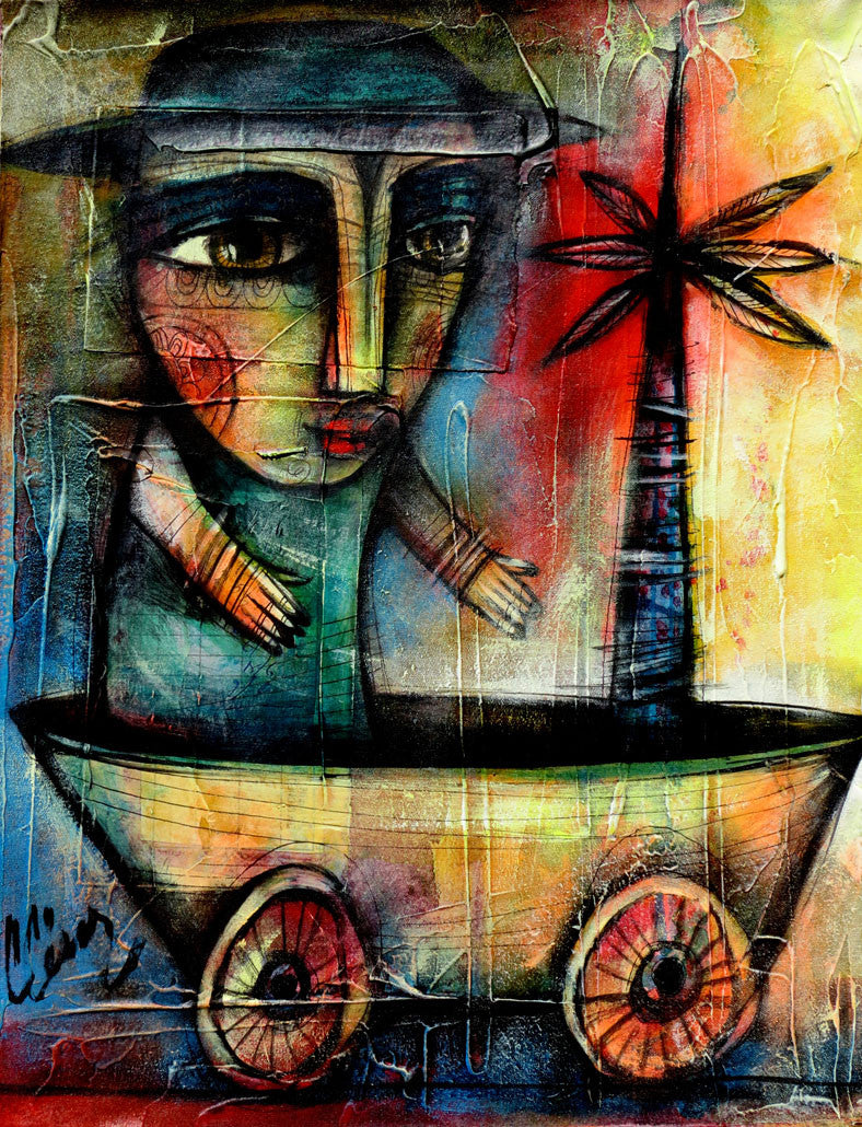 Carlos Cesar Roman Cuban Art for Sale Cubanocanadian Arte Cubano