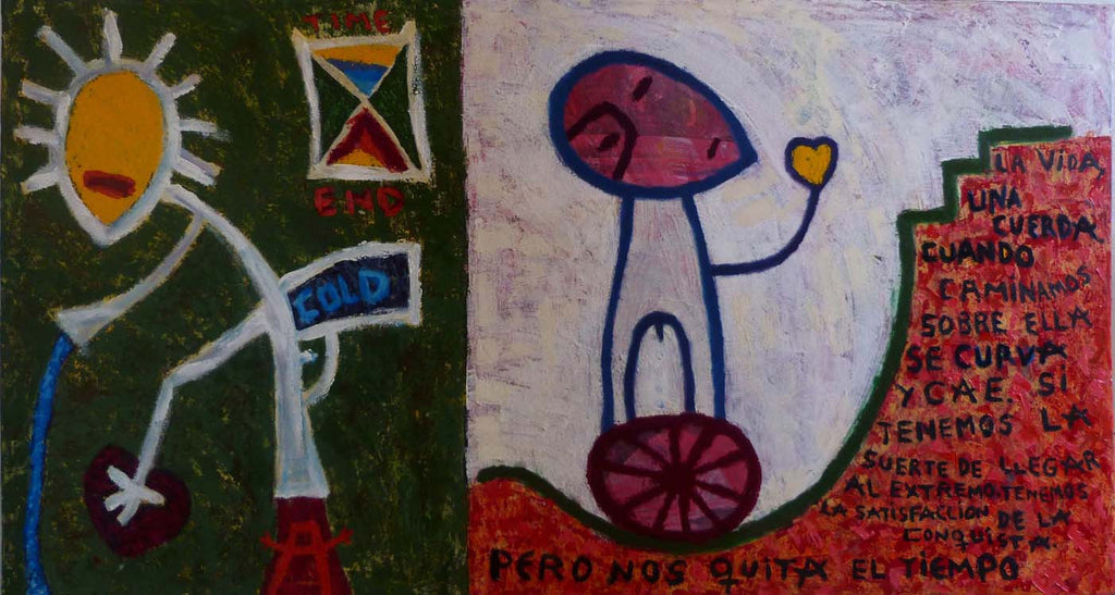 Life is a String Guillermo Esquerra Diaz Original Cuban Art Arte Cubano