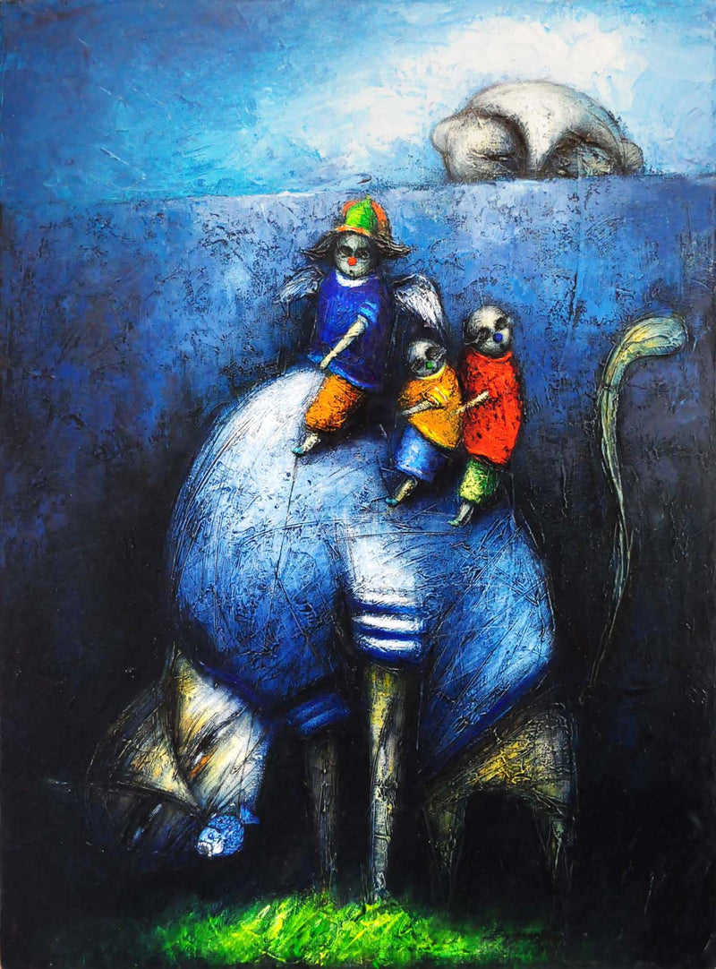 Yasiel Elizagaray Cardenas Siempre Hay un Ojo Cubanocanadian Contemporary Cuban Art for Sale Arte Cubano