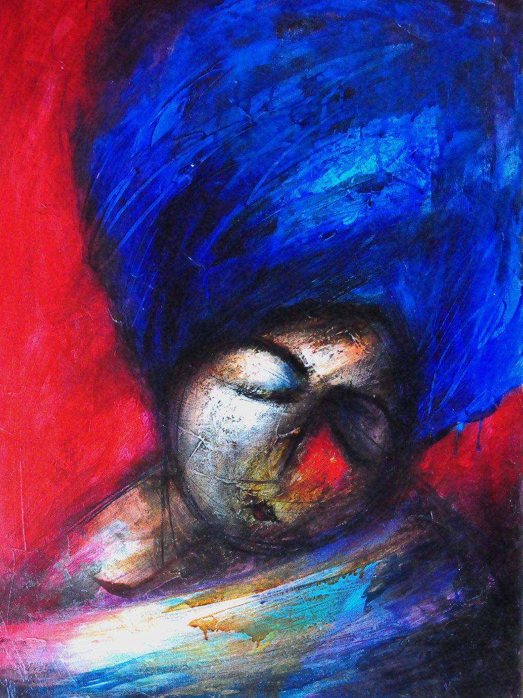 Yasiel Elizagaray AZUL DE TUS OJOS  Cubanocanadian Cuban Art for Sale