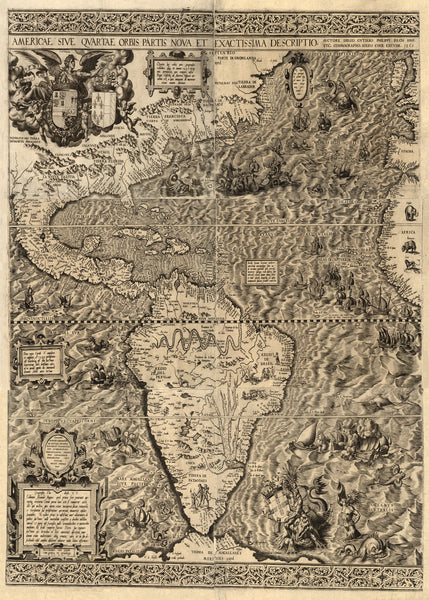 The Fourth Part of the World - 1562 - Historia Posters