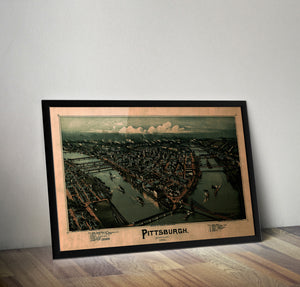 The Steel City in 1902 - Historia Posters